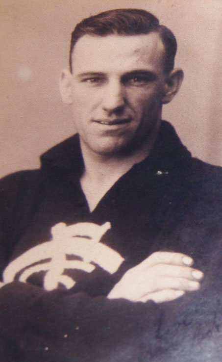 Bob Green in his playing days.