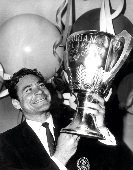 1968 - Ron Barassi and the Premiership Cup.jpg