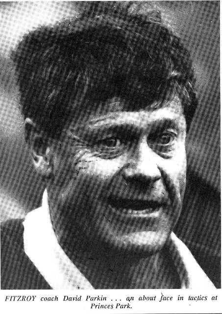 1987 - Fitzroy coach David Parkin (13/05/87)..