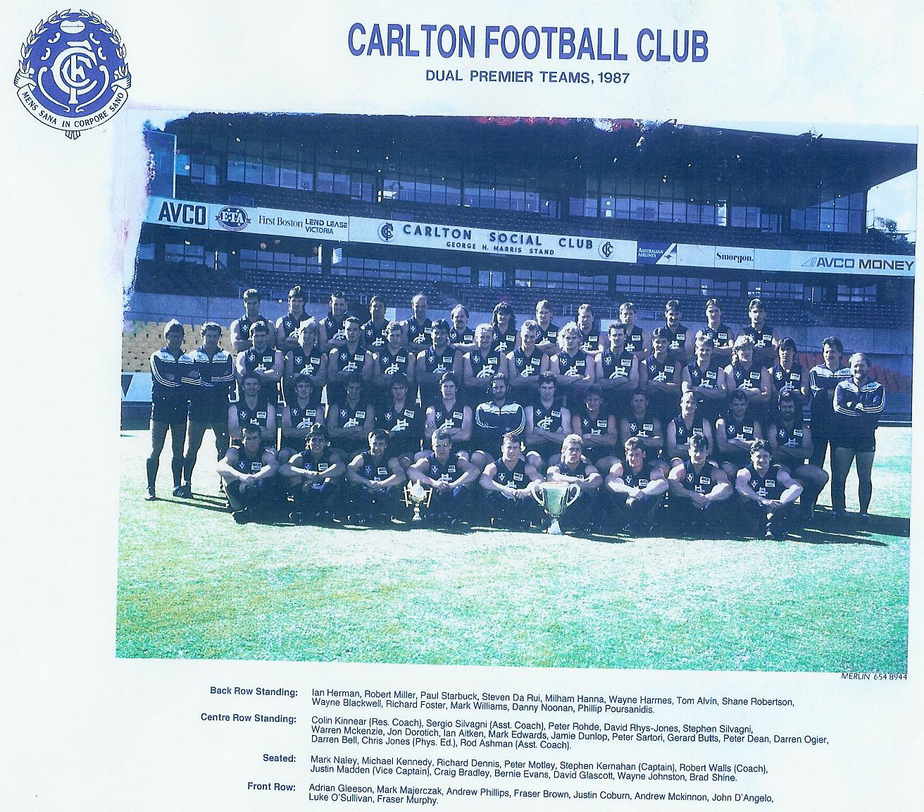 1982 Carlton Football Club season