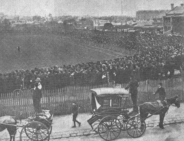 Semi Final, 1903; Carlton vs Collingwood at Fitzroy..jpg