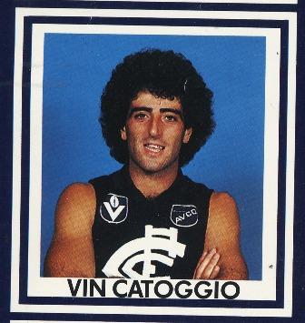 Vin Catoggio CATOGGIO Vin Blueseum Online Carlton Football Club Museum